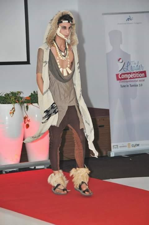 salah ghribi model from tunis