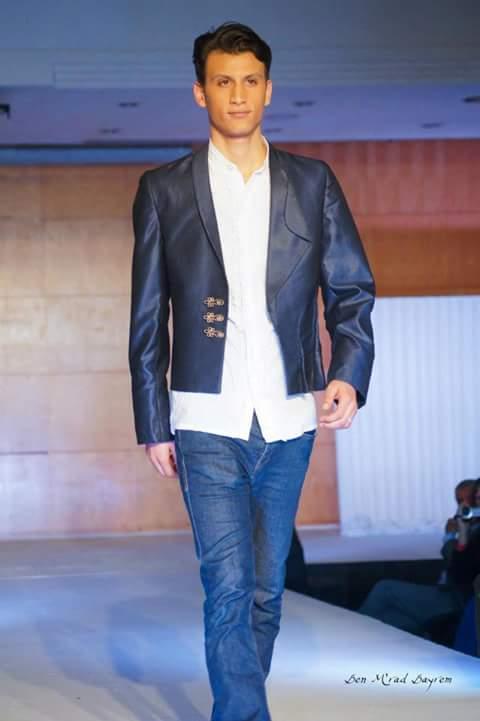salah ghribi fashion week runway