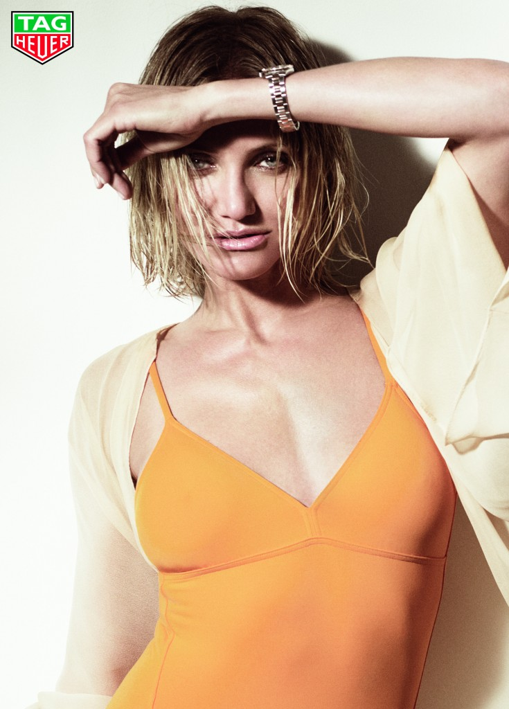 Cameron Diaz Photo credit Tom Munro for TAG Heuer