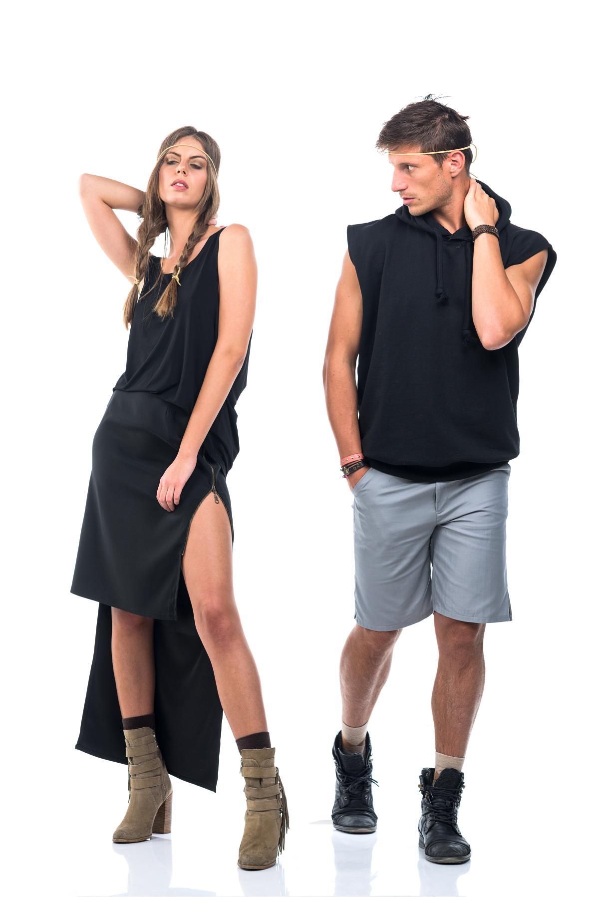 "LOOKBOOK ""Maveiric SS 17"" Sisters Code by SBC / Models Milica Milinkovic & Boris Skokna / Ph: Janko Petkovic /Studio BGD"