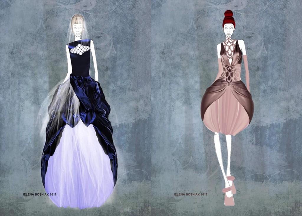Jelena Bosnjak - modne ilustracije 1