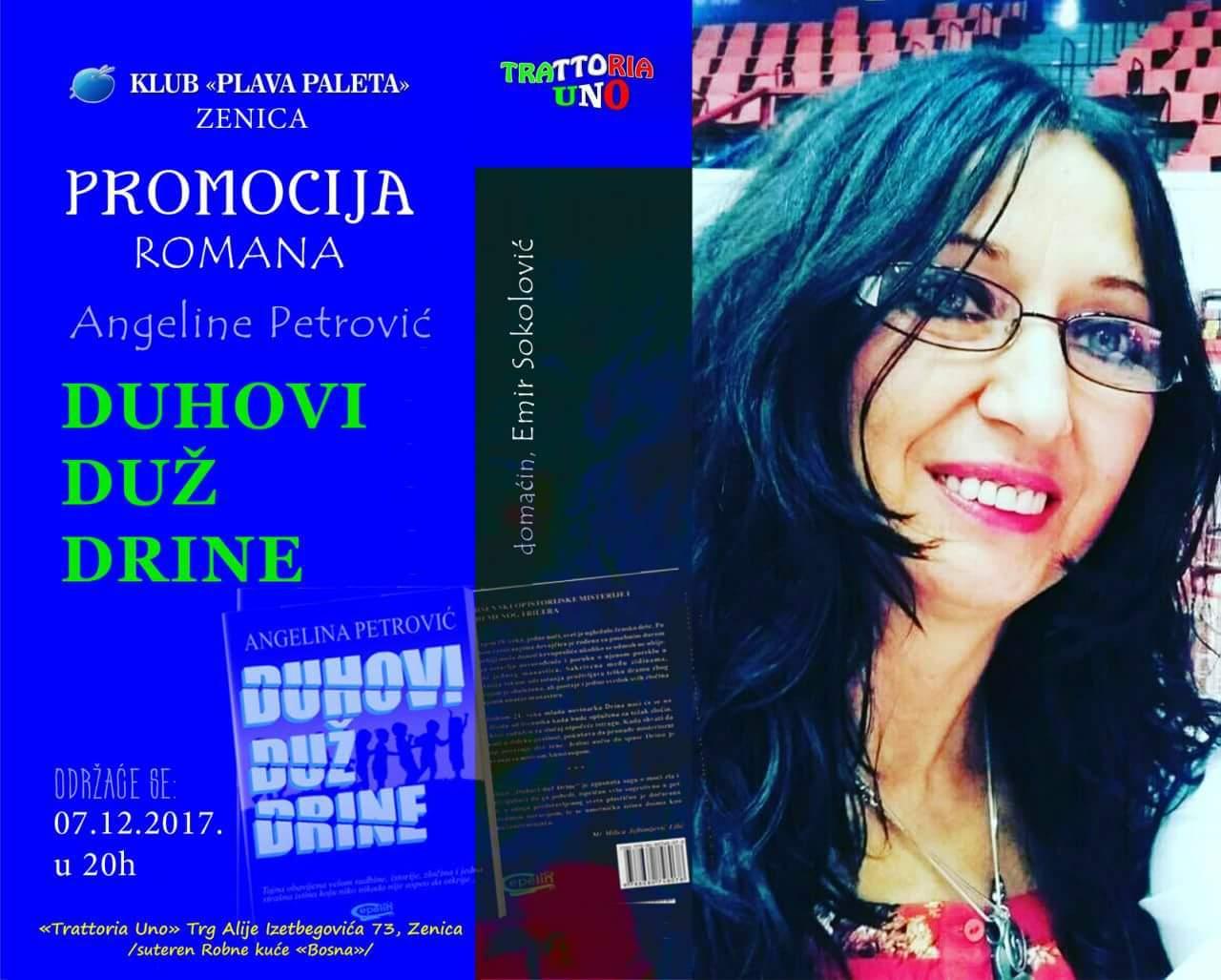 Književnica Angelina Petrović, Novi Sad