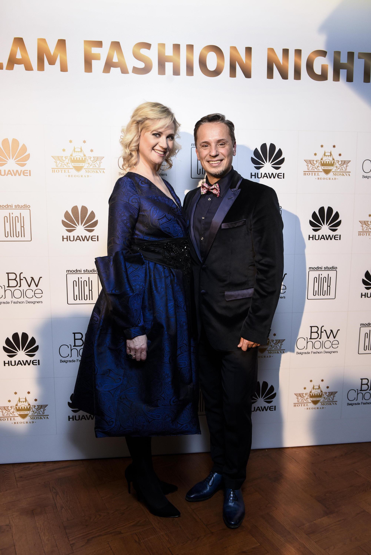ANA SOFRENOVIĆ I NENAD RADUJEVIC Glam Fashion Night