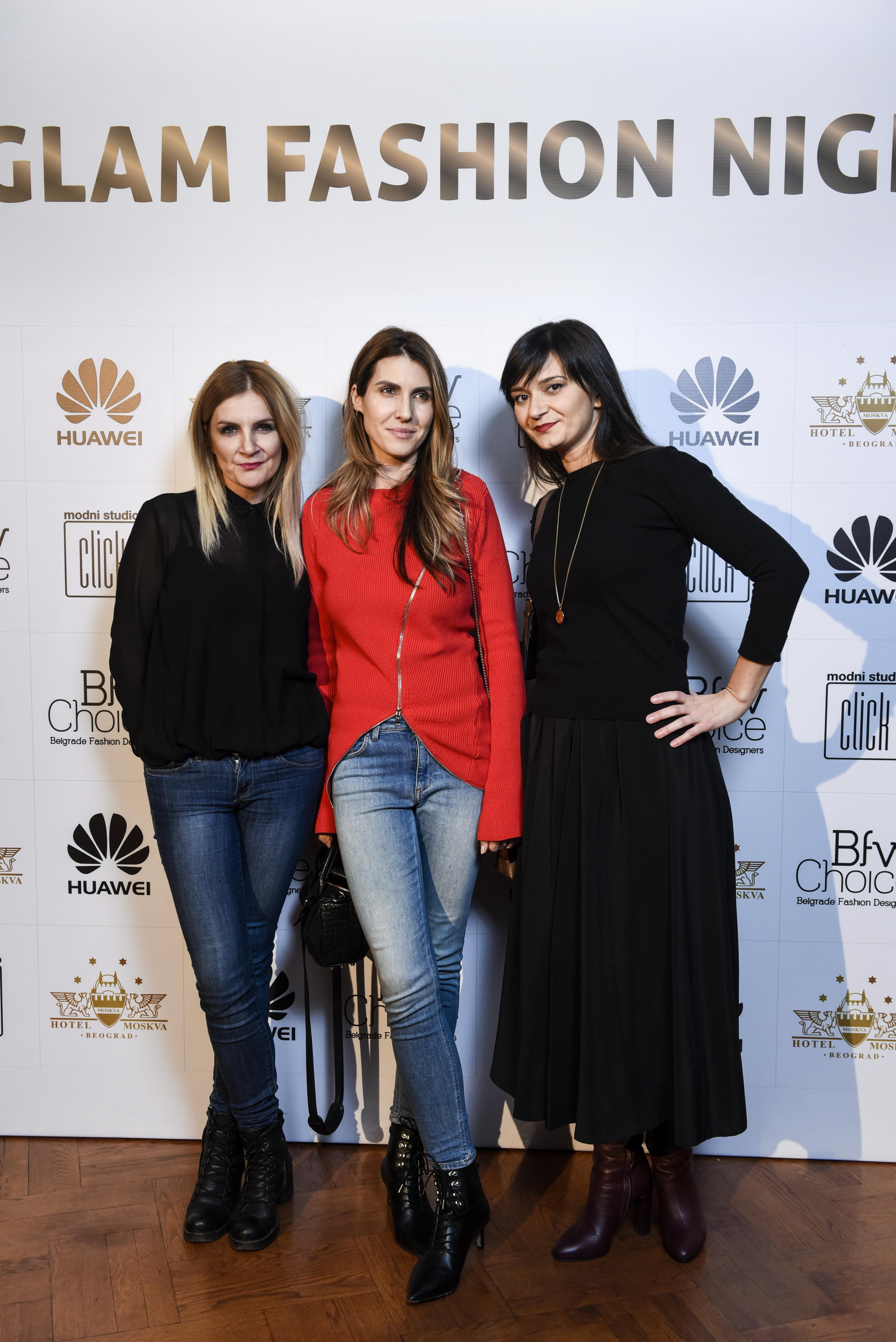 Barbara garčević, IRENA JOVANOVIC I MARINA LUKIĆ Glam Fashion Night