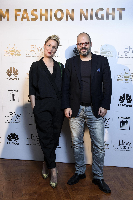 DANIJELA GAŠPARAC I DARIJAN MIHAJLOVIĆ Glam Fashion Night