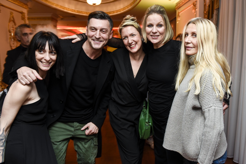 MAJA ATANASIJEVIC, BOSKO JAKOVLJEVIC, DANIJELA GASPARAC, ALEKSANDRA JANKOVIC I VERICA RAKOCEVIC Glam Fashion Night