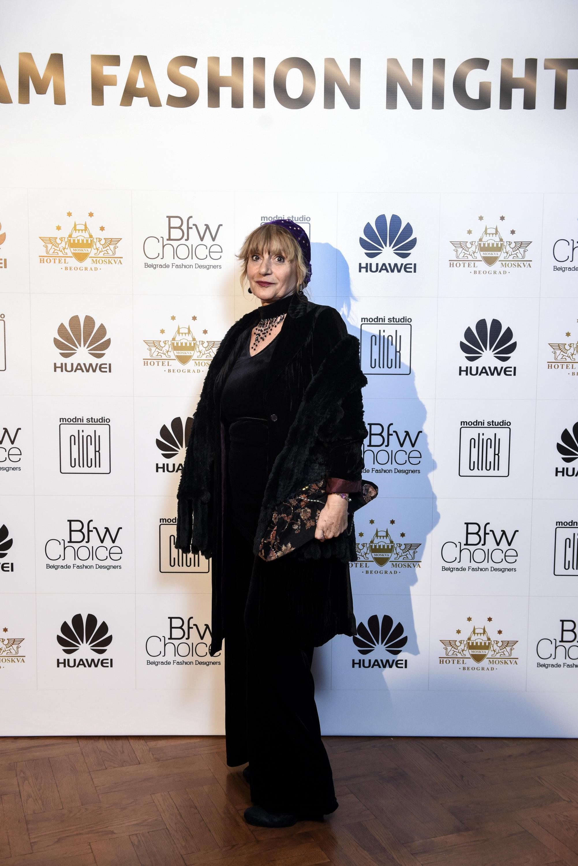 RADMILA HRUSTANOVIC Glam Fashion Night