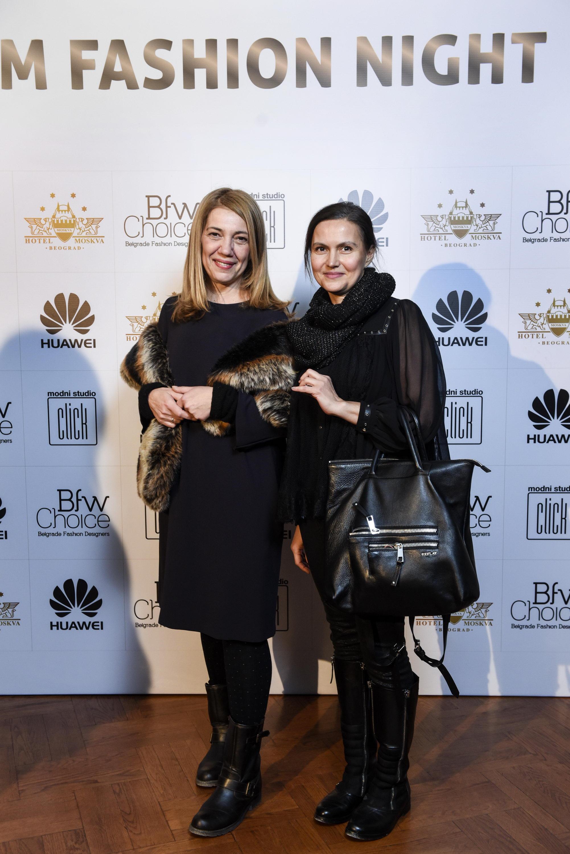 VOJAKA PAJKIC I MAJA TUCAKOVIC Glam Fashion Night