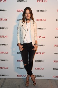 Alessandra Ambrosio - International football star Neymar Jr. makes a special guest appearance for fans at the Replay concession stand Selfridges to help celebrate the launch of their new Hyperfree collection