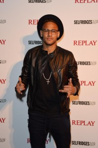 Brazilian superstars Neymar Jr
