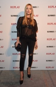 Replay launches Hyper Collection with star-studded event - The Flexibles - Laura Whitmore