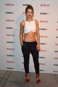 Replay launches Hyper Collection with star-studded event - The Flexibles - Vogue Williams